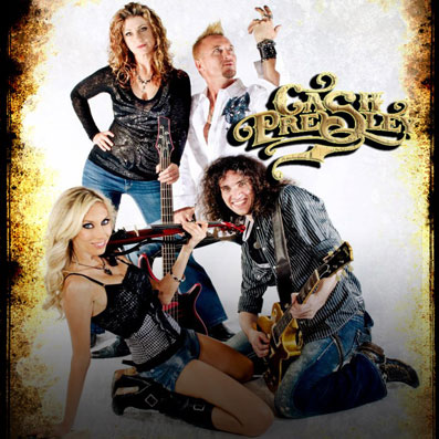 Cash Presely - Las Vegas New Country and Rock Band