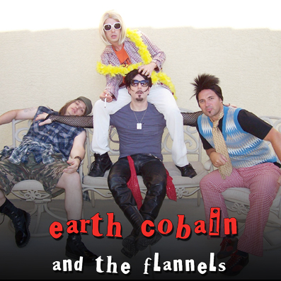 Earth Cobain and the Flannels - Las Vegas Nirvana tribute band