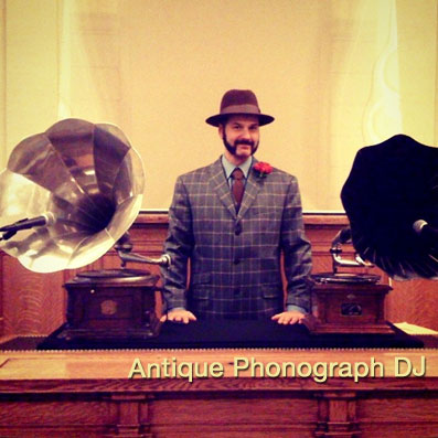 Antique Phonograph DJ - Las Vegas DJs