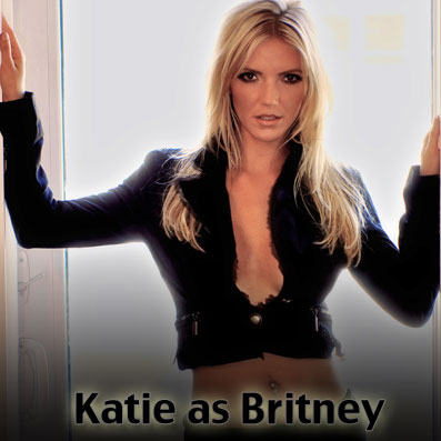 Katie as Britney - Britney Spears Tribute - Las Vegas
