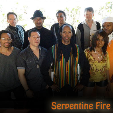 Serpentine Fire - Las Vegas Tribute Bands