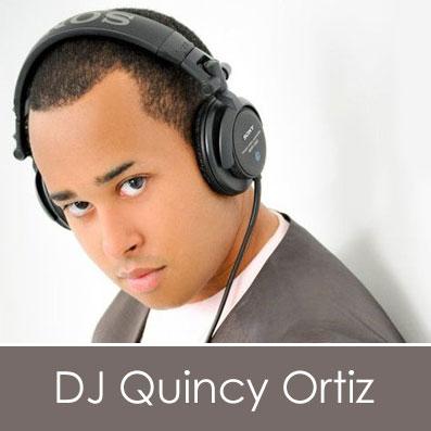 Las Vegas DJ Quincy Ortiz