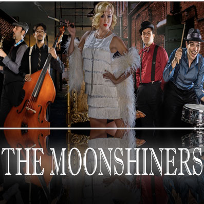 The Moonshiners Live Entertainment in Las Vegas